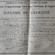 diplôme de Marie-Louise Desneux - document Jacquy Delfosse